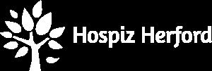 Logo Hospiz Herford in weiß