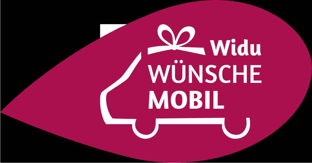 Blatt mit Logo Widu-Wünschemobil